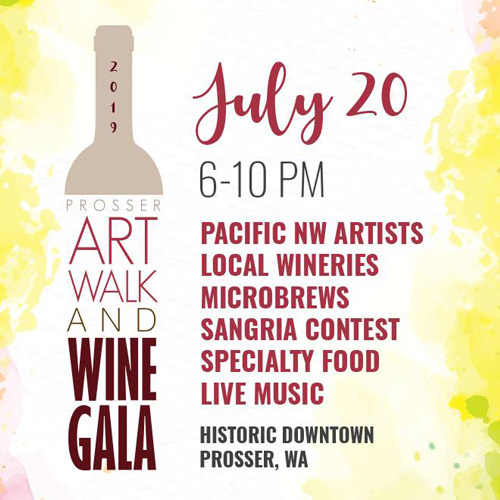 Art Walk & Wine Gala at Historic Downtown Prosser