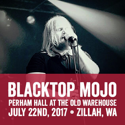 Blacktop Mojo Perham Hall at The Old Warehouse