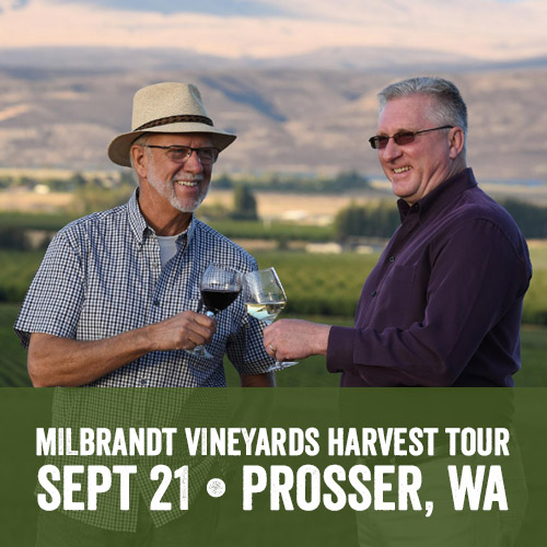 Milbrandt Vineyards Harvest Tour
