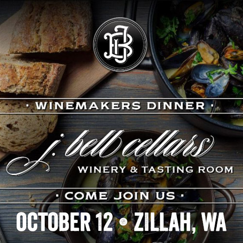 Winemakers Dinner at J Bell Cellars with the Fat Pastor