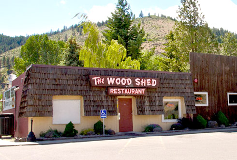 The Wood Shed at Eagle Rock Resort