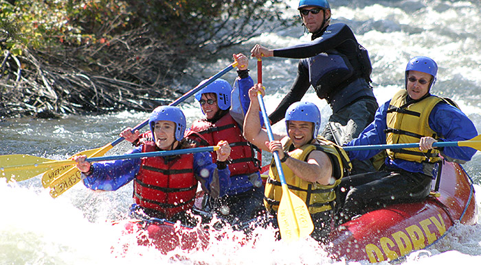Yakima Valley White Water River Rafting