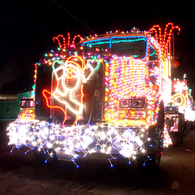 Annual Lighted Farm Implement Parade